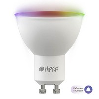 Умная LED лампочка Wi-Fi HIPER IoT B1 RGB